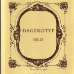 Dagerotyp 23 okładka
